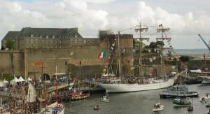 Il porto militare durante la festa del mare e dei marinai
