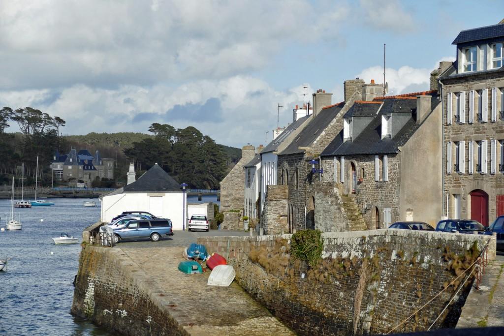 le più vecchie case di Le Conquet deposito al piano terra e residenza al primo