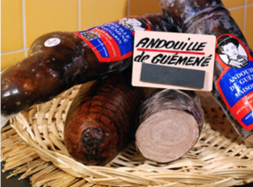 Insaccato originario di Guéméné (un paese della Bretagna)