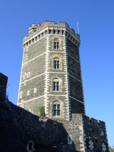 La torre del castello di Oudon