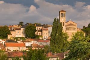 Berthier Emmanuel - vue sur la ville de Clisson.