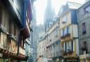 Quimper capitale della Cornovaglia francese